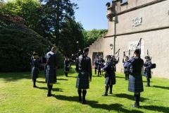 Pipe Band Fyvie Castle-35