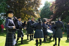 Pipe Band Fyvie Castle-36