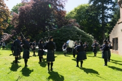 Pipe Band Fyvie Castle-47