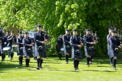 Pipe Band Fyvie Castle-50