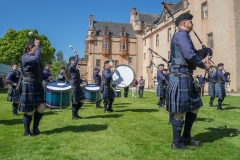 Pipe Band Fyvie Castle-55