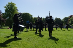 Pipe Band Fyvie Castle-61