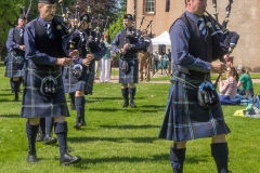 Pipe Band Fyvie Castle-62