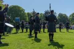 Pipe Band Fyvie Castle-63