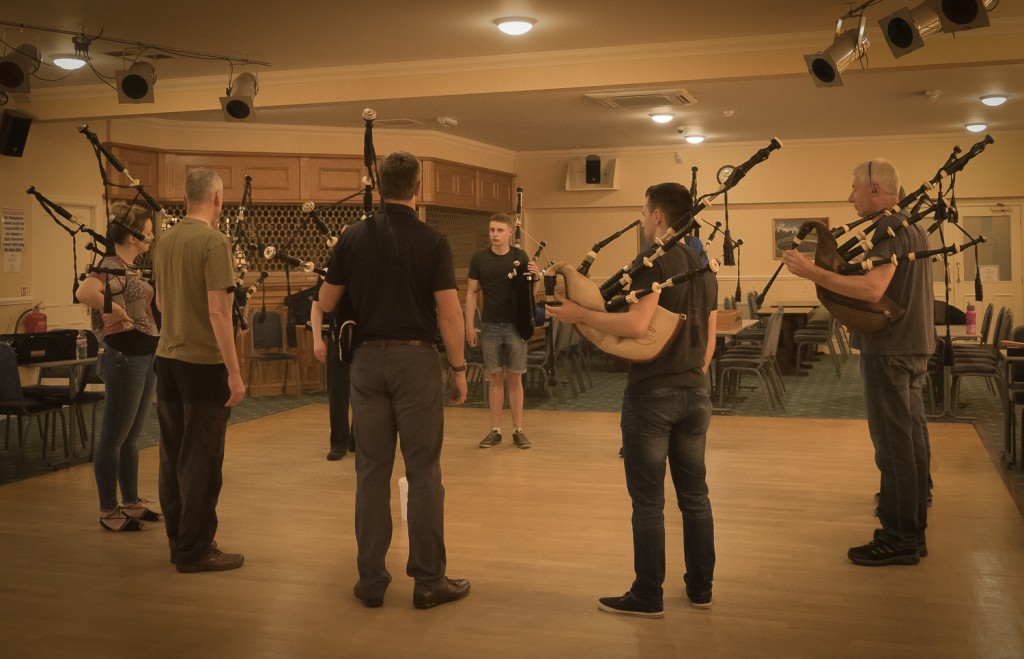 Pipe Band practice-4