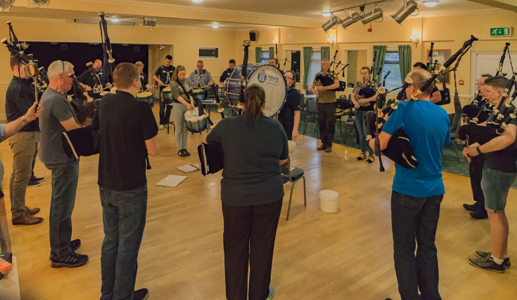 Pipe Band practice-8