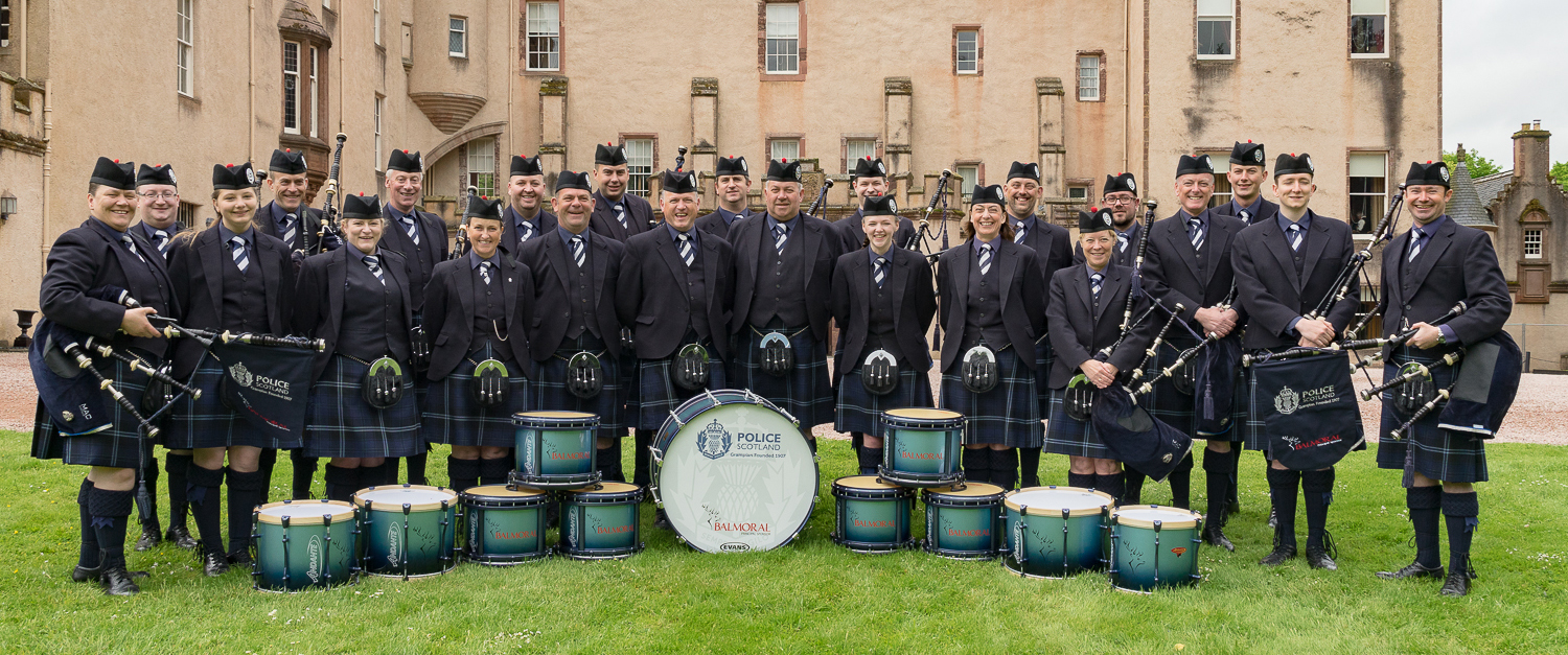 Grampian Police Pipe Band