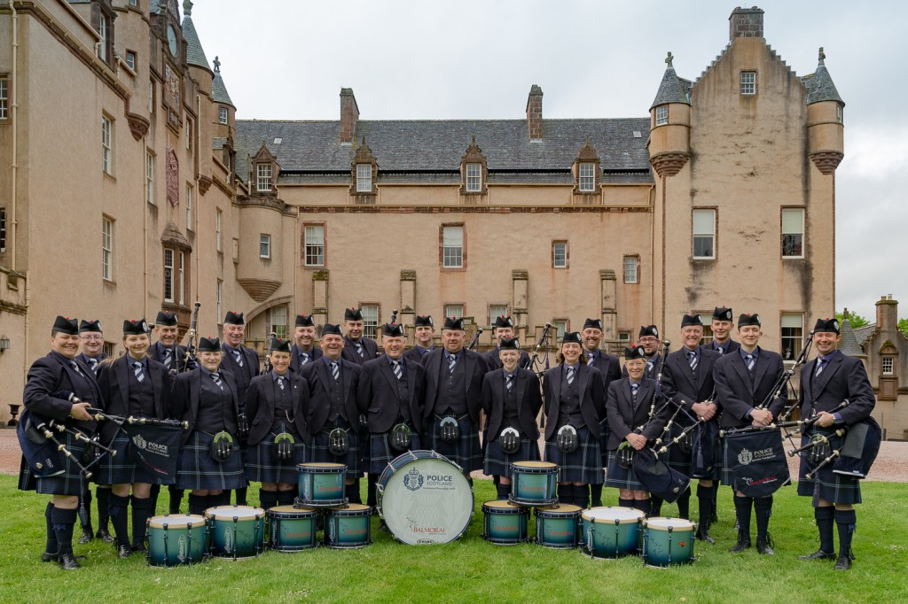 Pipe band Fyvie event-12