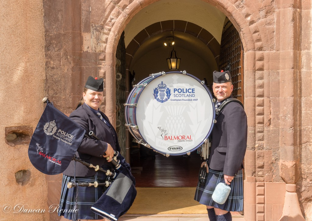 Pipe band Fyvie event-3