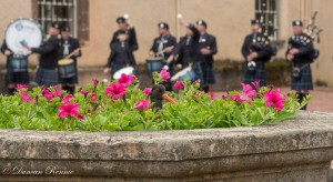 Pipe band Fyvie event-4