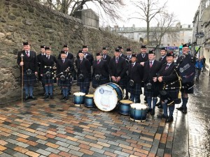 Pipe Band - Remebrance Day Parade 2018